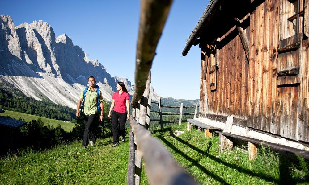 Wandern in Villnöss: Die besten Tipps für Ihre Wanderferien